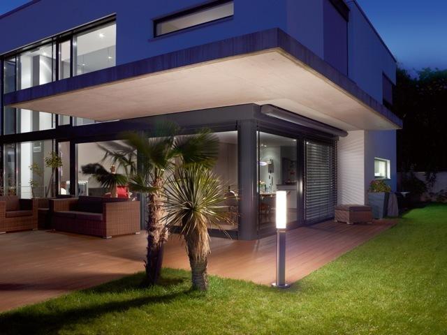 steinel gl60 led ter ksinen pollarivalaisin liiketunnistimella. Black Bedroom Furniture Sets. Home Design Ideas