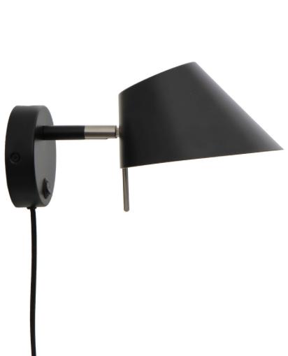 Design by Frandsen musta OFFICE pöytävalaisin | LumenLux Store